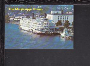 Riverboat,Mississippi Queen Postcard