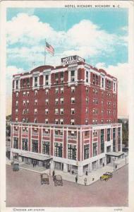 North Carolina Hickory Hotel Hickory 1930