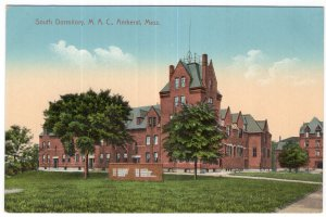 Amherst, Mass, South Dormitory, M. A. C.