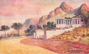 South Africa, Cape Town, The Rhodes Memorial, Groote Schuur, from Painting