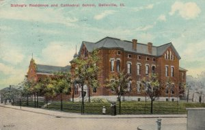 BELLEVILLE , Illinois , 1911 ; Bishop's Residence and Cathedral School