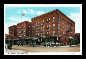 ELLIS HOTEL WATERLOO IOWA