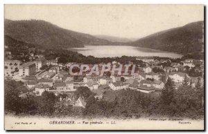 Gerardmer - Vue Generale - Old Postcard