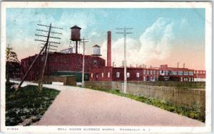 ROOSEVELT, NJ New Jersey  BENJ. MOORE MURESCO WORKS  1920 Postcard