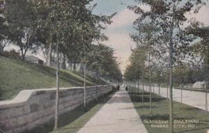 Missouri Kansas City Gladstone Boulevard 1908