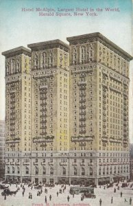 NEW YORK CITY , New York, 1900-10s; Hotel McAlpin, Herald Square