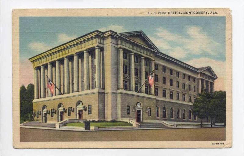 U. S. Post Office, Montgomery, Alabama, 1930-1940s