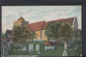 Sussex Postcard - St Peters Church, Bexhill-On-Sea    RS6748