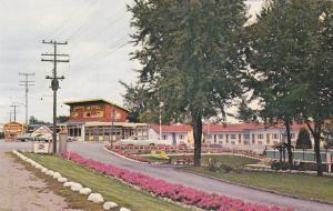 GANANOQUE , Ontario , Canada , 40-60s; Gateway Motel and Restaurant, 1000 Island