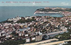 Monte-Carlo , Monaco , 00-10s ; Vue generale pris de Beausoleil