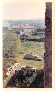 Byblos, Lebanon Postcard, Carte Postale View of Fort from Draw Bridge Byblos ...