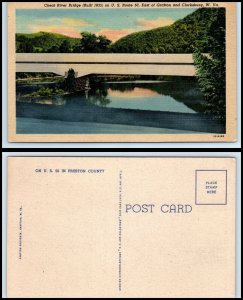 WEST VIRGINIA Postcard - Cheat River Bridge Q15