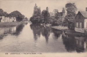 ABBEVILLE, Somme, France; Vue sur la Somme, 00-10s