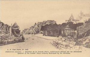 France Peronne Quartier de la Grande Place