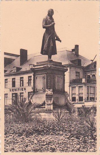 BRUXELLES, Belgium; Statue of Gretry, 10-20s