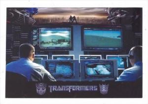 Movie Advertising postcard   TRANSFORMERS # 3