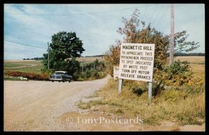 Magnetic Hill - New Brunswick, Canada