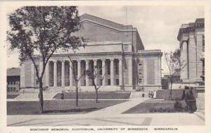 Minnesota Minneapolis Northtrop Memorial Auditorium University of Minnesota A...