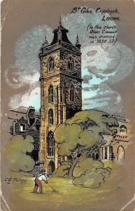 London, Cripplegate St. Giles (church where Oliver Cromwell was married in 1620)