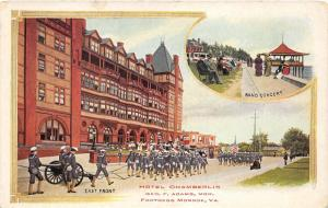 Hampton-Fort Monroe Virginia~Hotel Chamberlin~Soldiers Marching~Band Concert~'10
