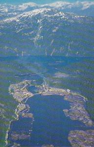 Canada British Columbia Birds Eye View Ocean Falls
