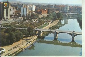 Postal 014277: Vista aerea de Valladolid