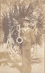 RP: Baritone Saxophone player, Navy Band, Charleston, South Carolina, 00-10s