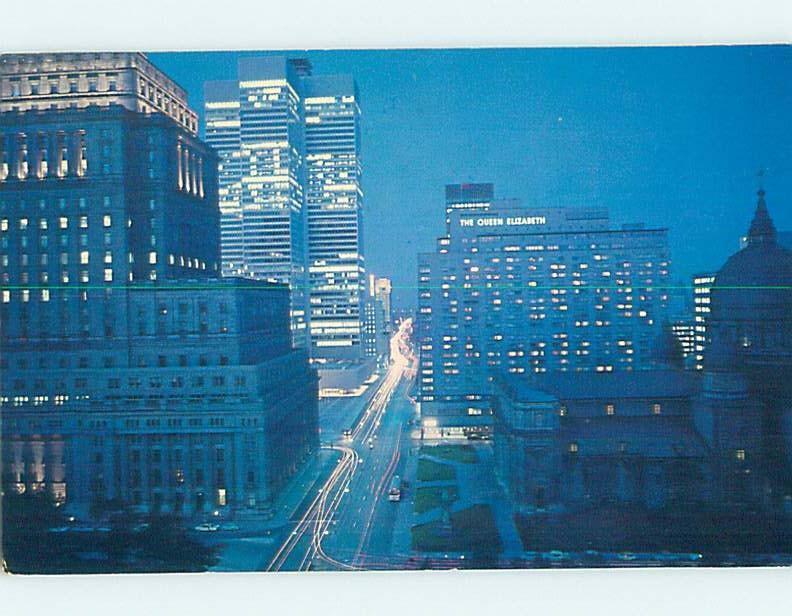 Pre-1980 STREET SCENE Montreal Quebec QC W1738