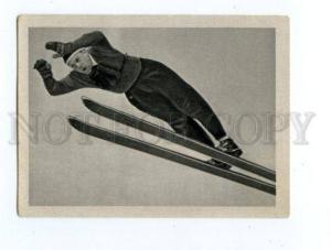 166964 VII Olympic WERNER LESSER ski jumper CIGARETTE card