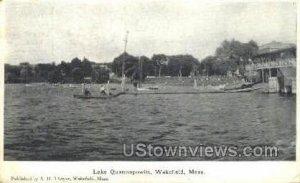 Lake Quannapowitt - Wakefield, Massachusetts MA