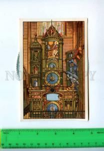 222302 GERMANY STRASSBURG astronomical Clock old MECHANICAL
