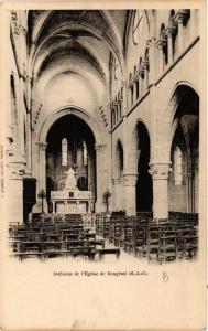 CPA Bougival Interieur de l'Eglise (617775)