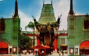 California Hollywood Grauman's Chinese Theatre 1955