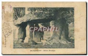 Old Postcard Dolmen Megalith Dolmen Druidic Draguignan