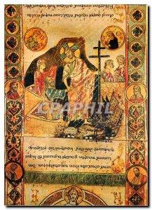 Postcard Modern Bari Exultet The resurrezione di Cristo al Limbo Discesa the ...