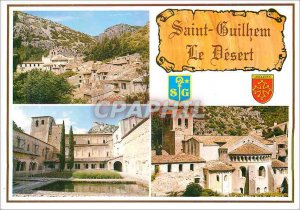 Postcard Modern Saint Guilhem le Desert (Herault)