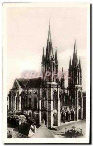 Old Postcard Pontmain Basilica