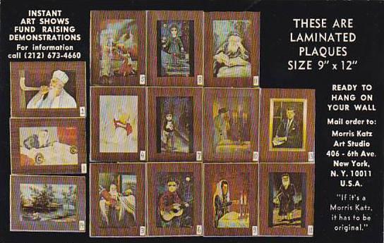 Judaica Morris Katz Multi View