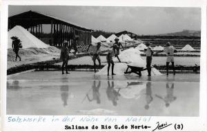 BR73657 salinas do rio g do norte real photo brasil salt mine