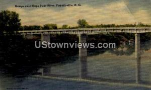 Bridge Over Cape Fear River Fayetteville NC 1942