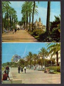 Avenue and Church,Sitges,Spain BIN