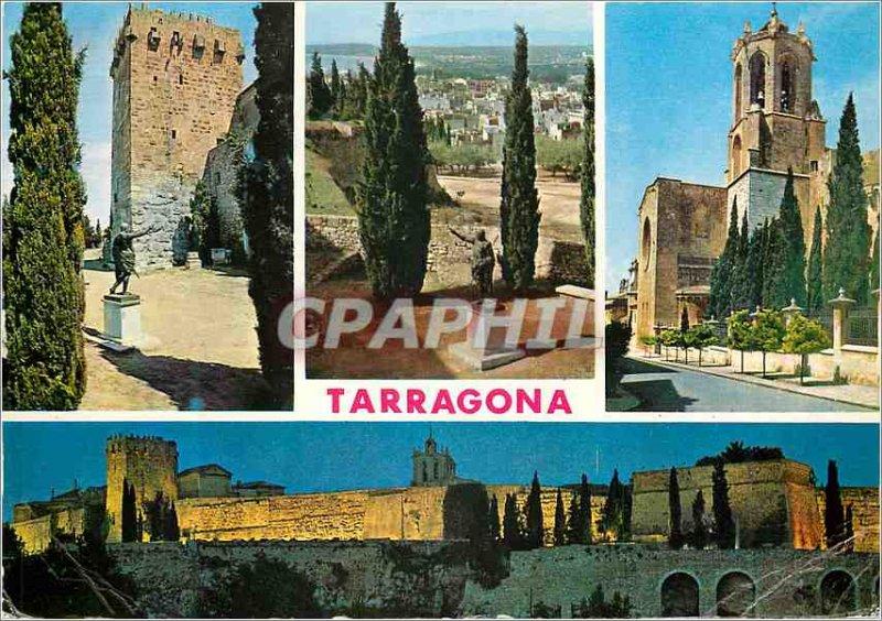 Postcard Modern Tarragona (Costa Dorada) Various aspects of the City