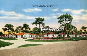 FL - St. Petersburg. Treasure Village Tourist Camp