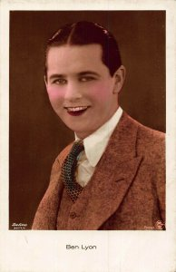 Ben Lyon Actor Movie star Cinema postcard