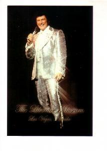 Liberace SInging in Silver Suit, Museum, Las Vegas, Nevada