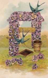Pansy Flower Well , 1909