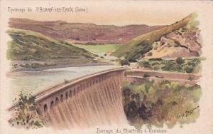 France St ALban-Les-Eaux Barrage du Chartrain a Renaison