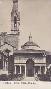 RP; Santa Croce, Chiostro,Toscana, Italy, 10-20s