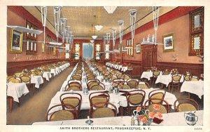 Smith Brother's Restaurant Poughkeepsie, New York Postcard
