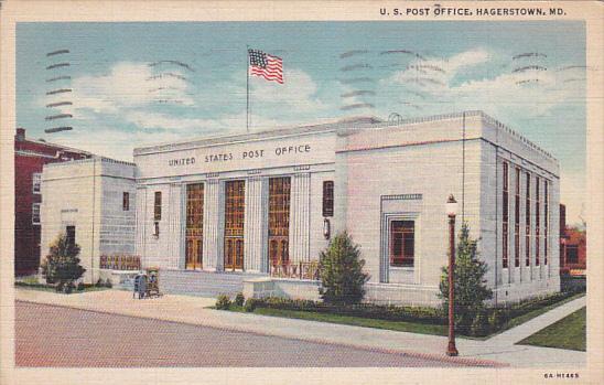 U. S. Post Office, HAGERSTOWN, Maryland, PU-1944